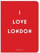 I Love London Mini Defter