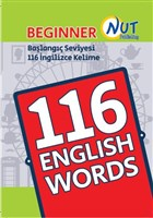Beginner 116 English Words Kartları