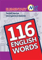 Elementary 116 English Words Kartları
